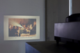 Josef Dabernig, Proposal for a New Kunsthaus not further developed (slide projection), 2004, courtesy Andreas Huber and Wilfried Lentz, photo: Glenn Geerinck.