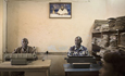 Guy Tillim, Typing pool, Town Hall, Likasi, DR Congo, 2007, Courtesy Michael Stevenson